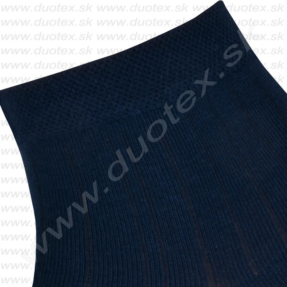 106021f2fdc pánske jednofarebné ponožky s nízkym lýtkom ukončené pohodlným vaflovým  lemom