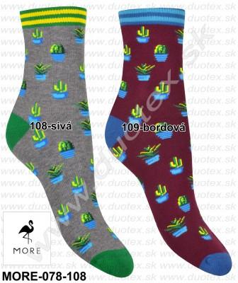 Vzorované ponožky More-078-108