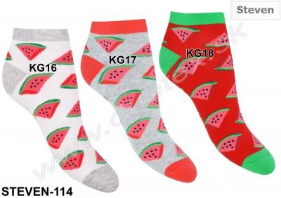 Členkové ponožky Steven-114