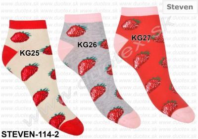 Dámske ponožky Steven-114-2