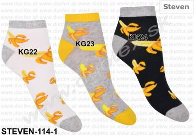 Členkové ponožky Steven-114-1