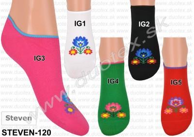 Členkové ponožky Steven-120