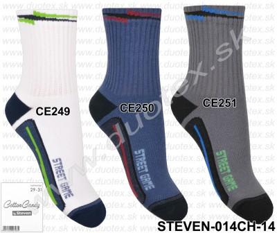 Detské ponožky Steven-014CH-14