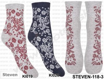 Dámske ponožky Steven-118D-019