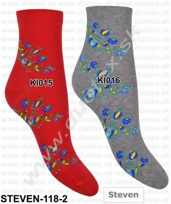 Dámske ponožky Steven-118-2