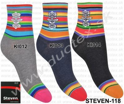 Dámske ponožky Steven-118D-012