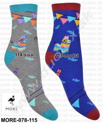 Dámske ponožky More-078-115