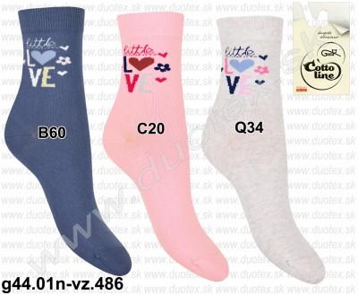 Detské ponožky g44.01n-vz.486