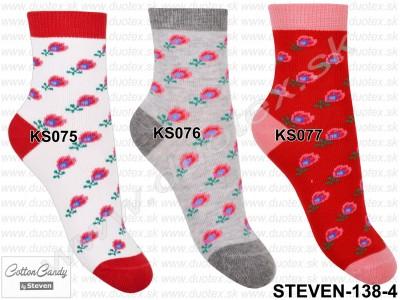 Detské ponožky Steven-138-4