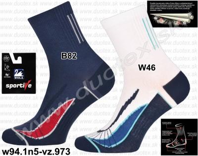 Bavlnené ponožky w94.1n5-vz.973