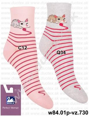 Dámske ponožky w84.01p-vz.730