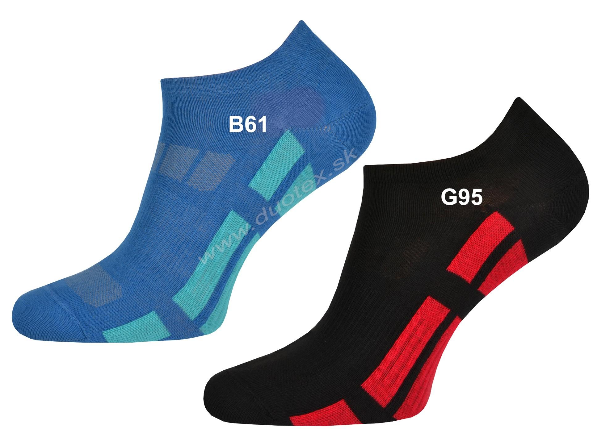 a6277ae0c športové členkové bavlnené ponožky s iónmi striebra. Použitie inovaktívneho  vlákna Prolen Siltex s antibakteriálnymi vlastnosťami obmedzuje množenie ...