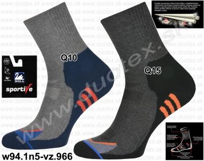 Bavlnené ponožky w94.1n5-vz.966