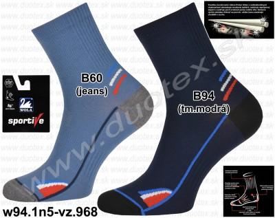 Bavlnené ponožky w94.1n5-vz.968