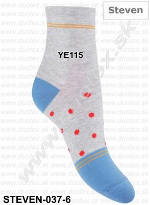 Dámske ponožky Steven-037-6