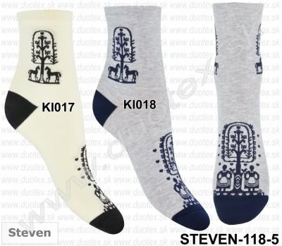 Dámske ponožky Steven-118D-017