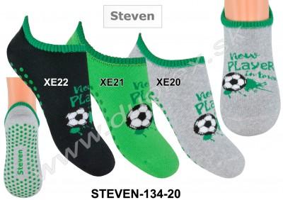 Froté ponožky s ABS Steven-134-20
