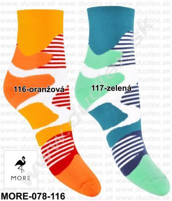 Vzorované ponožky More-078-116