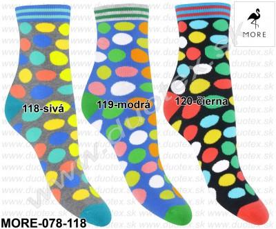 Vzorované ponožky More-078-118