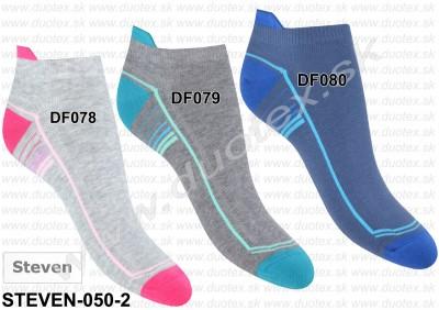 Dámske ponožky Steven-050-2