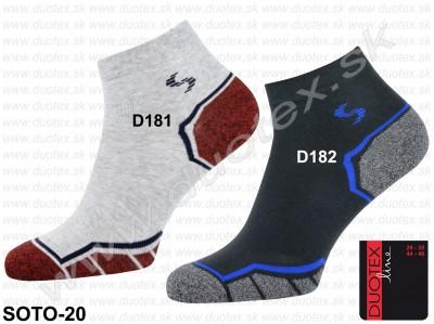Nízke ponožky Soto-20