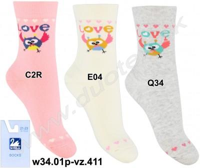 Detské ponožky w34.01p-vz.411