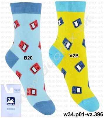Detské ponožky w34.p01-vz.396