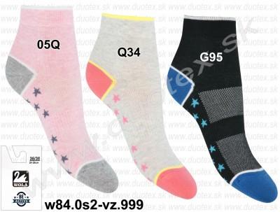 Dámske ponožky w84.0s2-vz.999