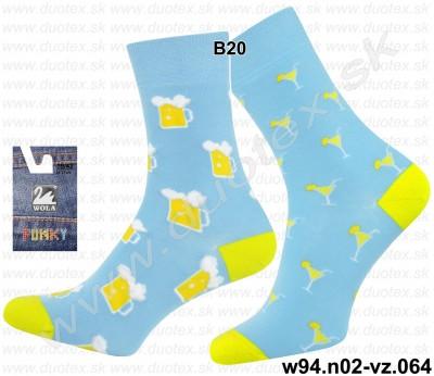 Pánske ponožky w94.n02-vz.064