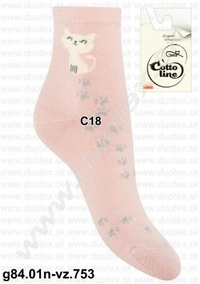Dámske ponožky g84.01n-vz.753
