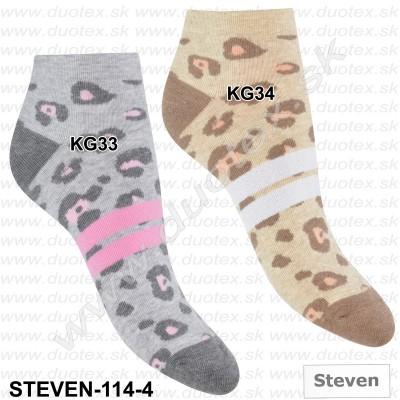 Dámske ponožky Steven-114-4