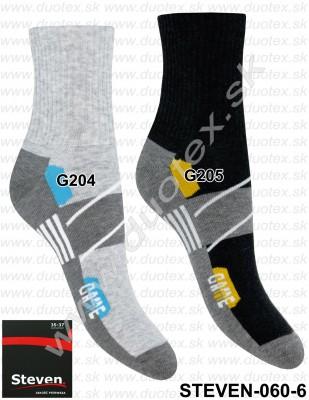 Vzorované ponožky Steven-060-6