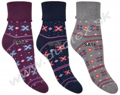 Dámske ponožky Steven-053-1