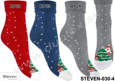 Dámske ponožky Steven-030-4