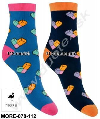 Vzorované ponožky More-078-112