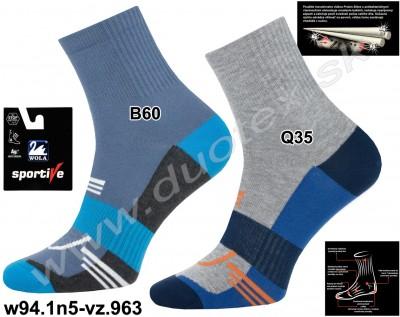 Bavlnené ponožky w94.1n5-vz.963