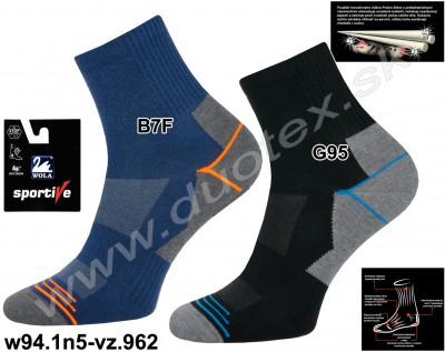 Bavlnené ponožky w94.1n5-vz.962