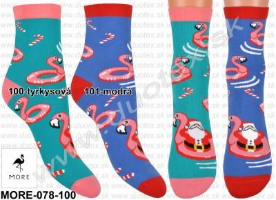 Vzorované ponožky More-078-100