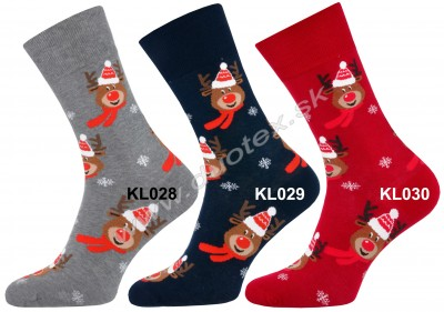 Vianočné ponožky Steven-136-5