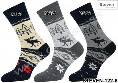 Pánske ponožky Steven-122-6