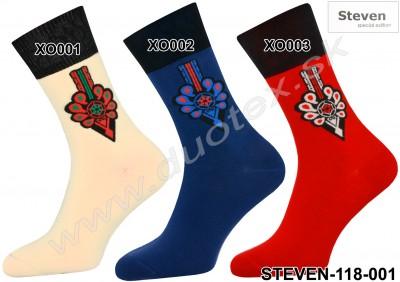 Pánske ponožky Steven-118-6
