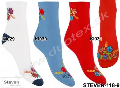 Dámske ponožky Steven-118-9