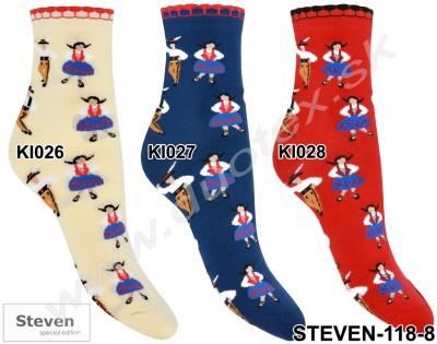 Dámske ponožky Steven-118-8
