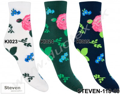 Dámske ponožky Steven-118-10