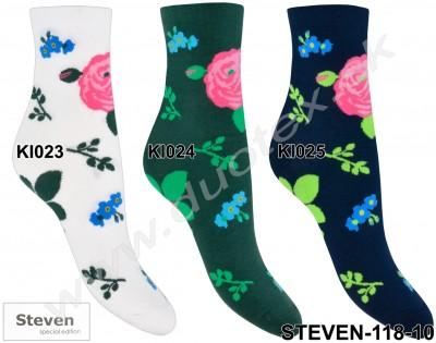 Dámske ponožky Steven-118D-023