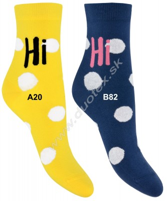 Vzorované ponožky w44.01p-vz.322