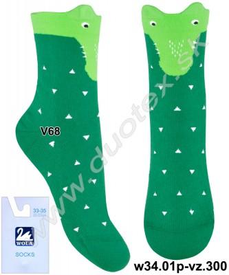 Detské ponožky w34.01p-vz.300