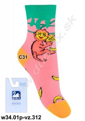 Detské ponožky w34.01p-vz.312
