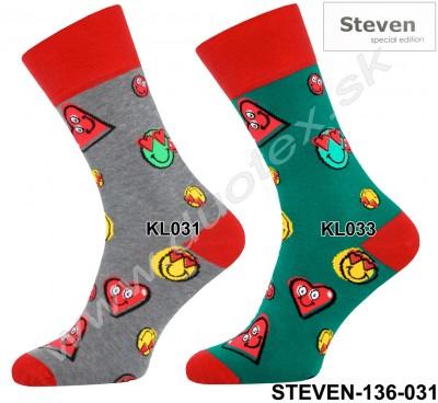 Pánske ponožky Steven-136-031