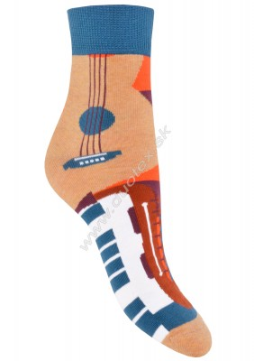 Bavlnené ponožky Steven-022-210
